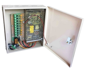 9ch Power Supply Box 12V 10A SA-PE12V10A-9