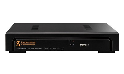 8ch Full HD PoE Network Video Recorder SA-NVR1-8P